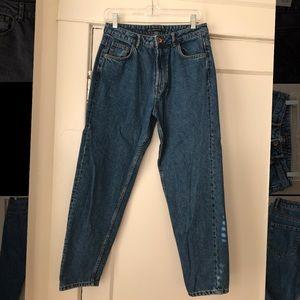 ZARA high waisted mom jeans size 38/M